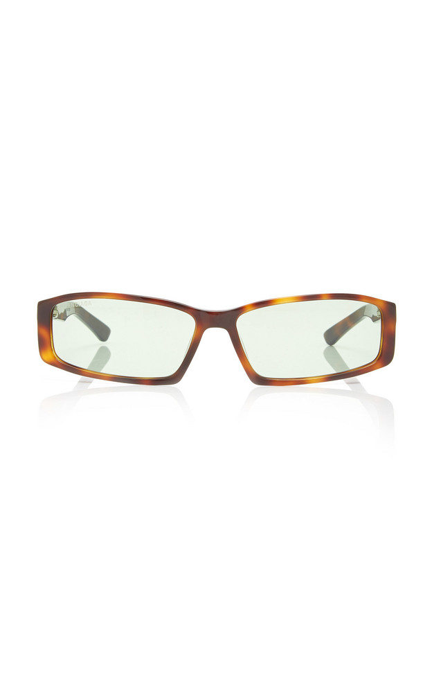 Balenciaga Sunglasses Square-Frame Acetate Sunglasses in brown