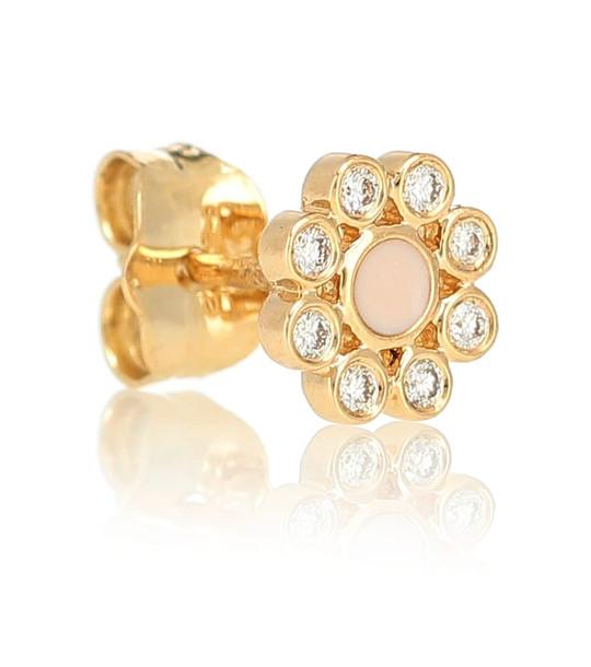 Sydney Evan Crystal-embellished single earring in gold