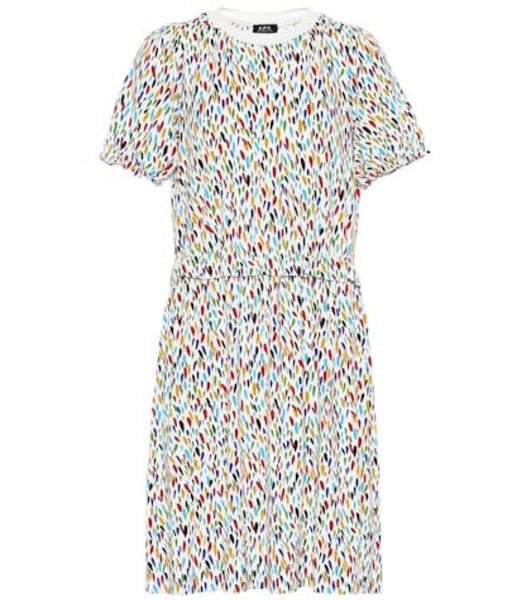A.P.C. Sophie printed jersey dress