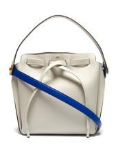 bag,shoulder bag,leather,grey