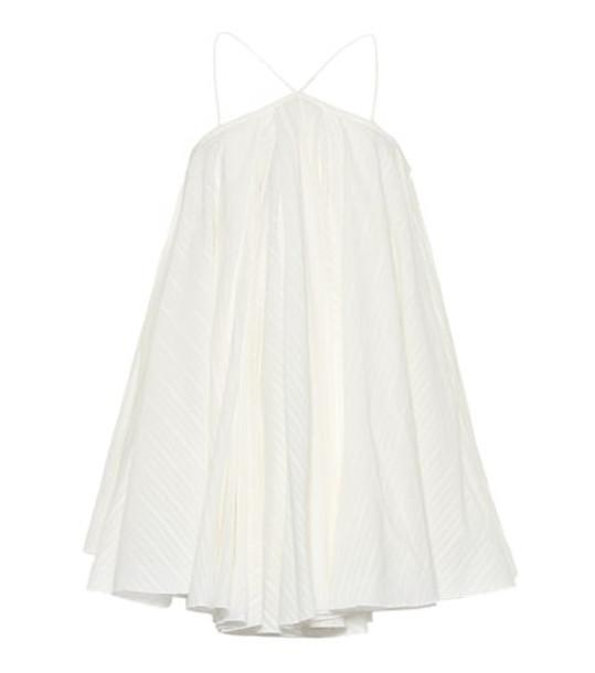 Jacquemus La Robe Belluno jacquard minidress in white