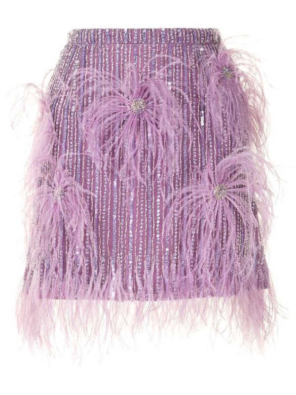 Rachel Gilbert Petunia skirt in purple