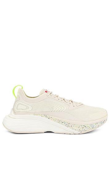 APL: Athletic Propulsion Labs Streamline Sneaker in White in multi