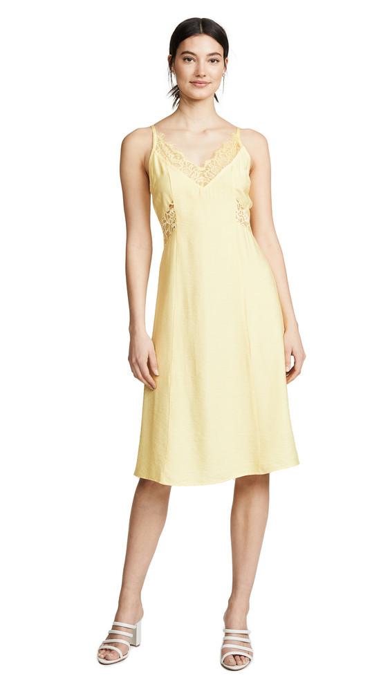 Line & Dot Elly Dress in yellow