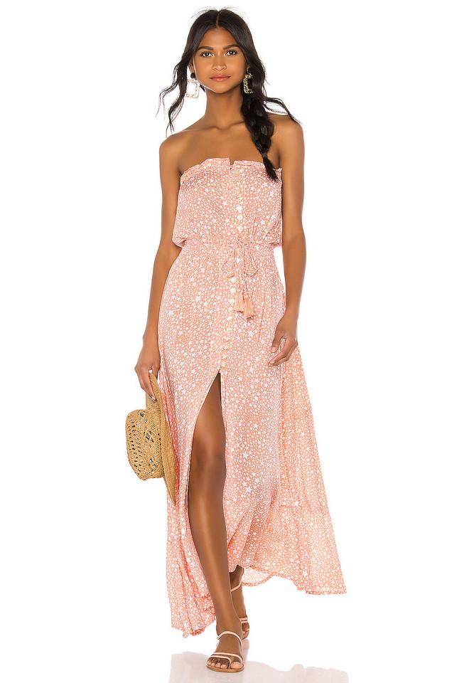 Tiare Hawaii Ryden Dress in blush