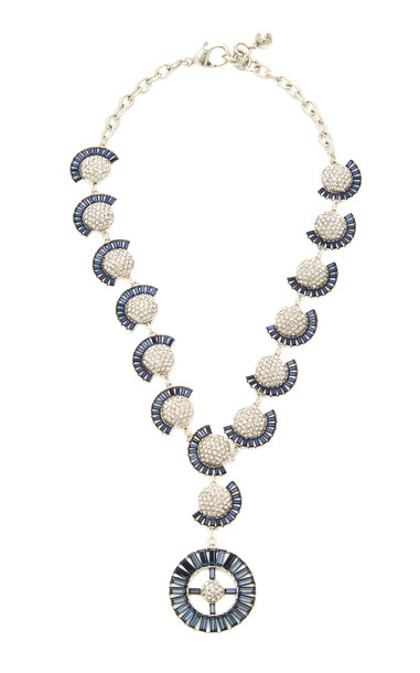 Lulu Frost Prophecy Crystal Statement Necklace
