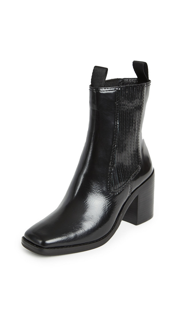 Loeffler Randall Arianna Square Toe Boots in black