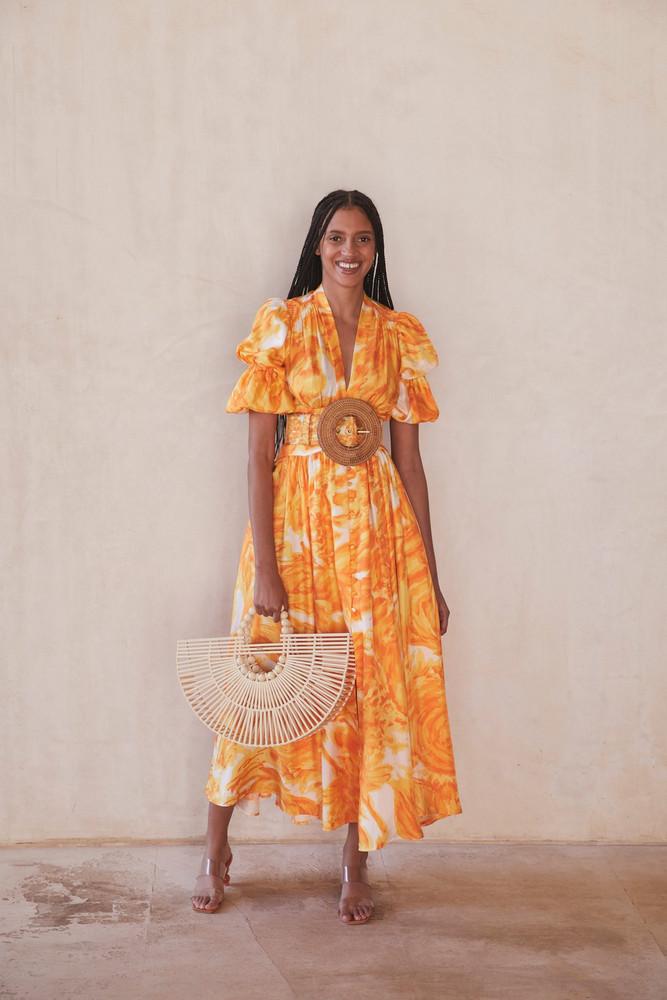 Cult Gaia Willow Dress - Starfish Multi                                                                                               $558.00