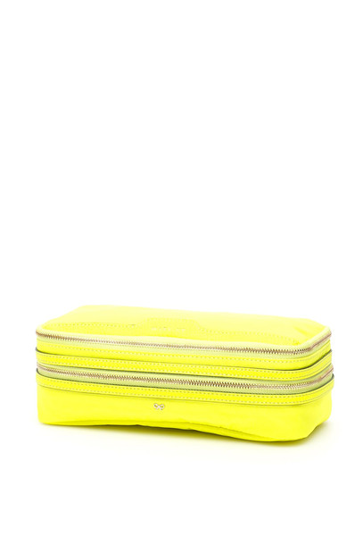Anya Hindmarch Make-up Case in yellow
