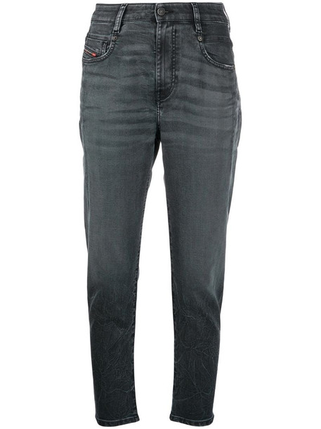 Diesel Fayza boyfriend jeans in grey