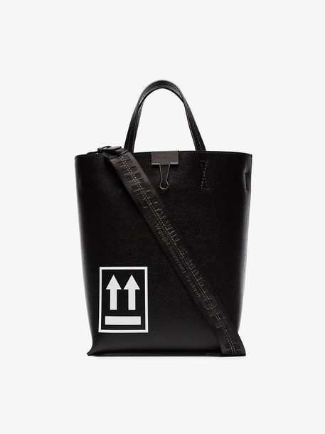 Off-White logo print tote bag
