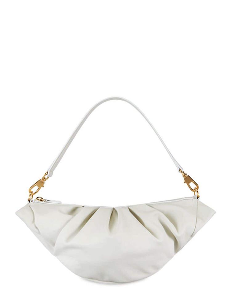 REIKE NEN Croissant Leather Bag in white