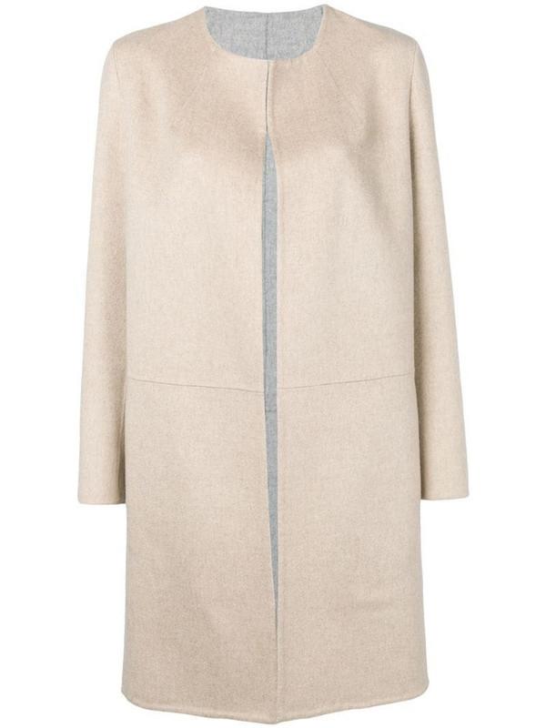 Liska Inga cashmere coat in neutrals