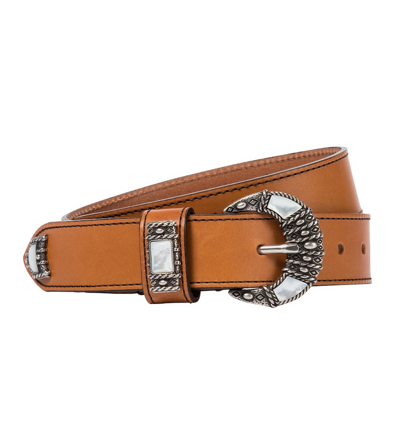 Etro Leather belt in brown