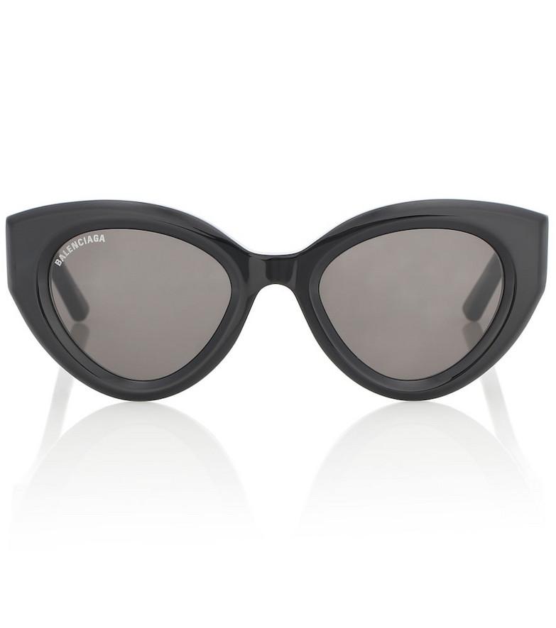 Balenciaga Cat-eye sunglasses in black