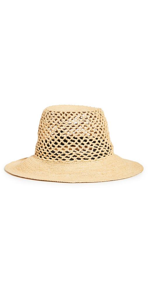 Janessa Leone Lynda Hat in natural