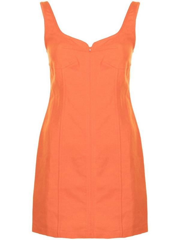 Mara Hoffman Anita mini dress in orange