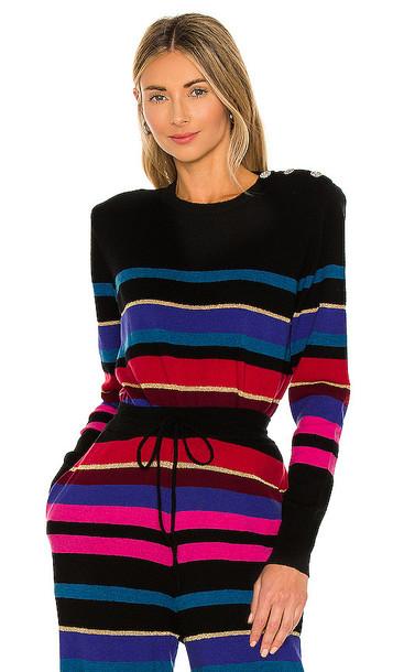 Ronny Kobo Inge Sweater in Black