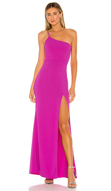 Lovers + Friends Lovers + Friends Eve Gown in Purple