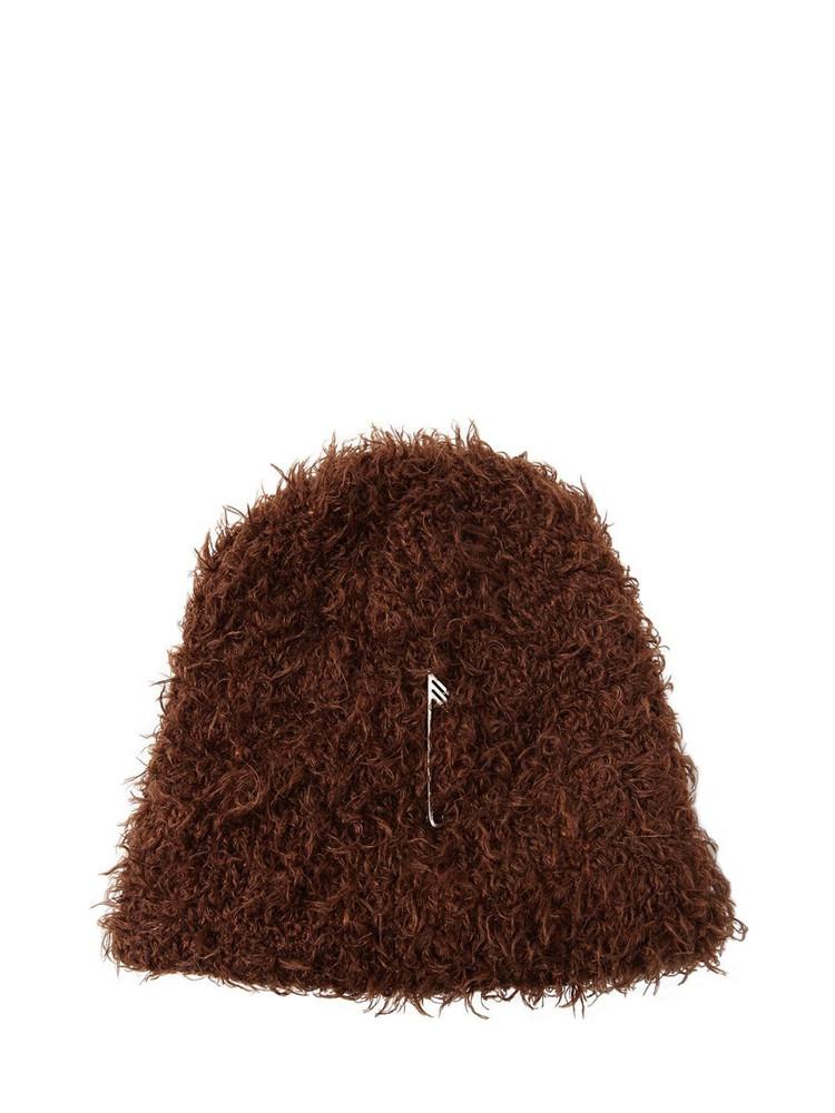 THE ATTICO Mohair Blend Knit Beanie