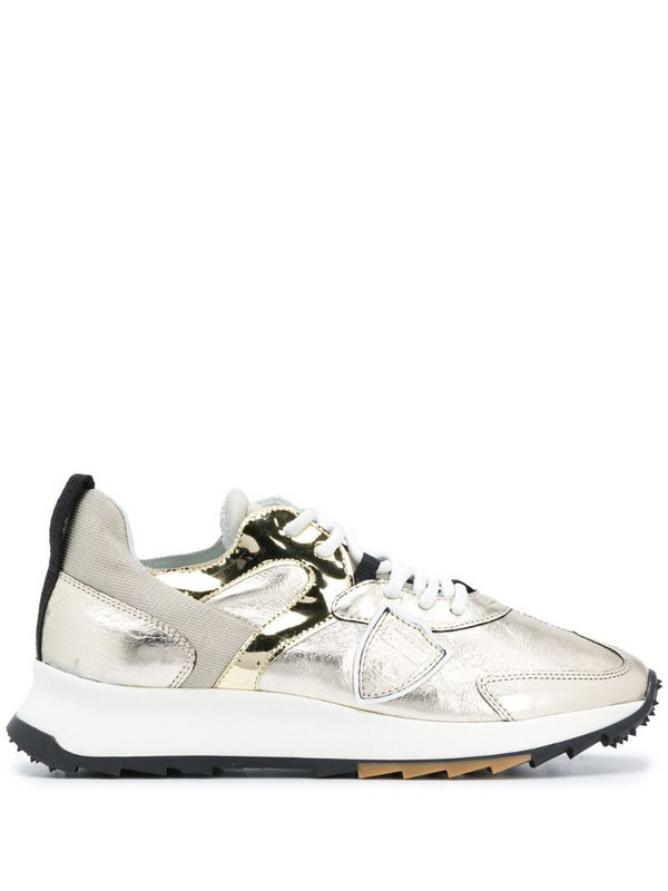 Philippe Model Paris Royale Lamine sneakers in gold