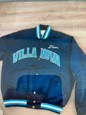 jacket,bomber jacket,blue,vintage