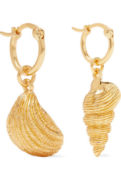 Aurélie Bidermann - Panama Gold-plated Earrings