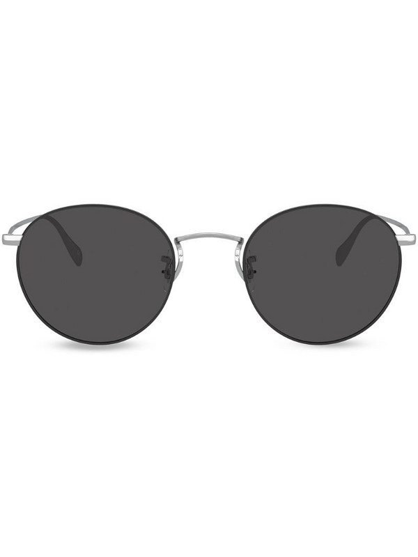 Oliver Peoples Coleridge tinted sunglasses in silver