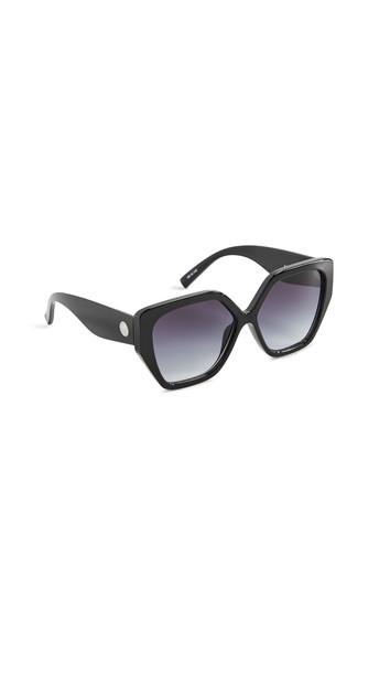 Le Specs So Fetch Sunglasses in black / brown
