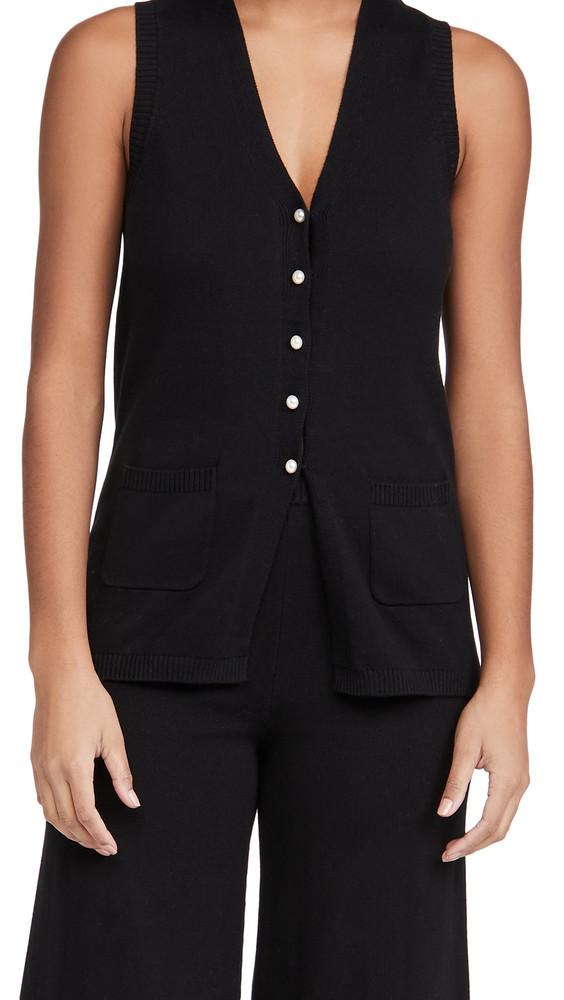 STAUD Jo Vest in black
