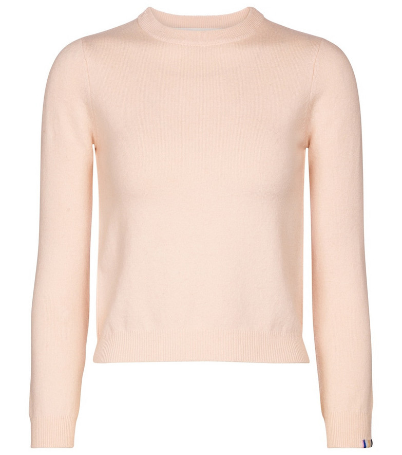 Extreme Cashmere N° 98 Kid cashmere-blend sweater in pink