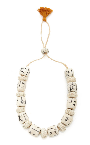 Johanna Ortiz Forty Days Road Necklace in ivory