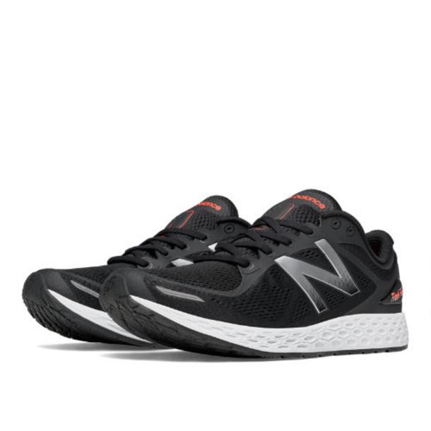 New Balance Fresh Foam Zante v2 Men's Recently Reduced Shoes - Black/Silver (MZANTBS2)