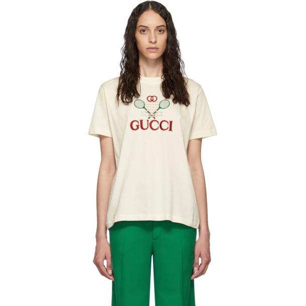 Gucci Off-White Tennis T-Shirt