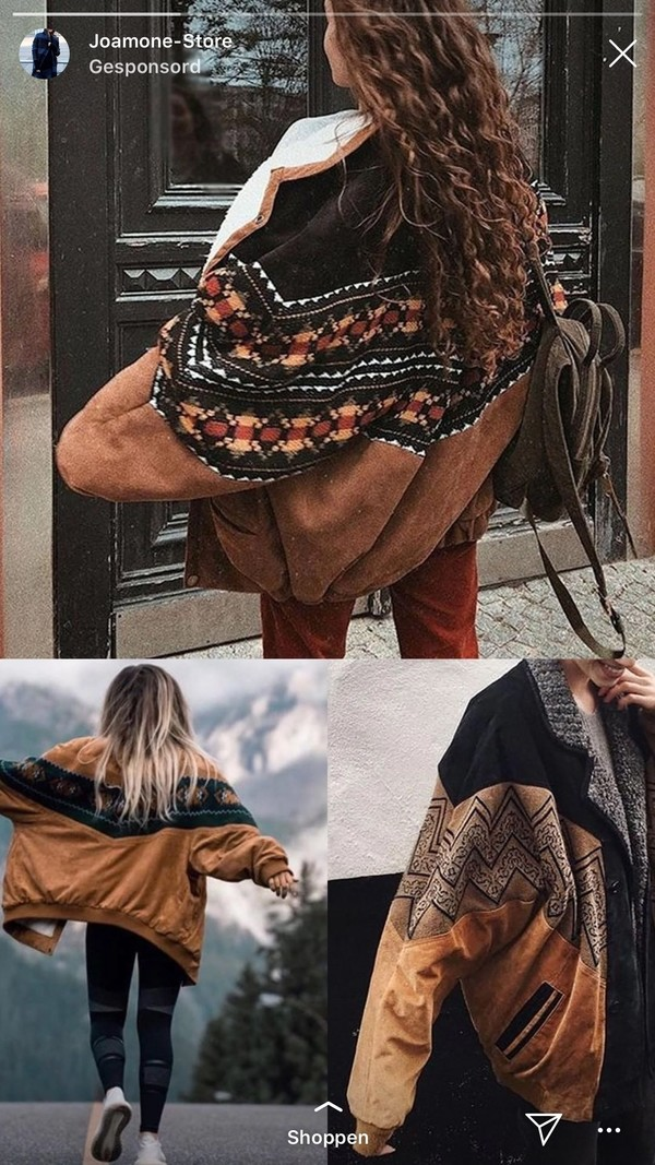 coat boho oversized jacket