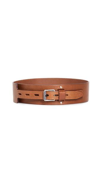 Rag & Bone Field Waist Belt in brown