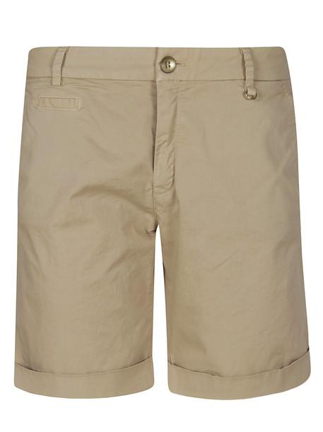 Mason's Studded Shorts in beige