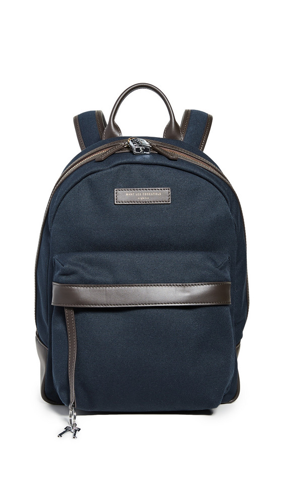 WANT Les Essentiels Leon Backpack in navy