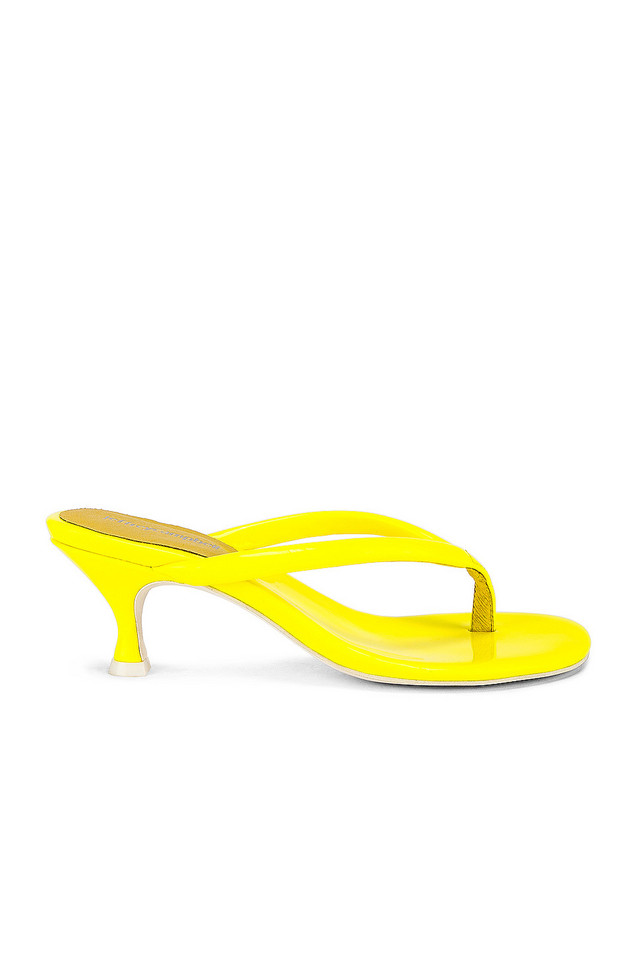 Jeffrey Campbell Brink Sandal in yellow