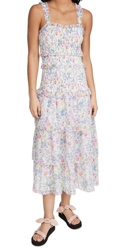 Saylor Leanna Dress in multi