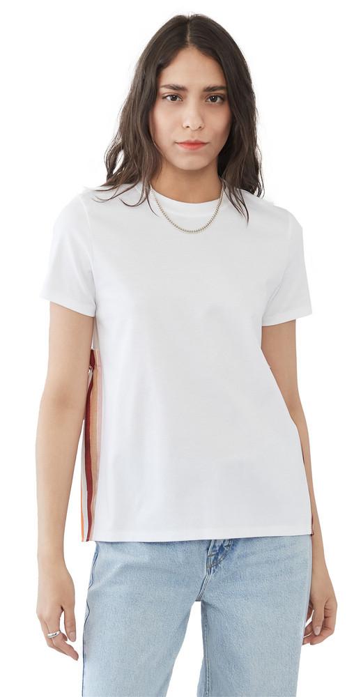Adeam Goldfish T-Shirt in white / print