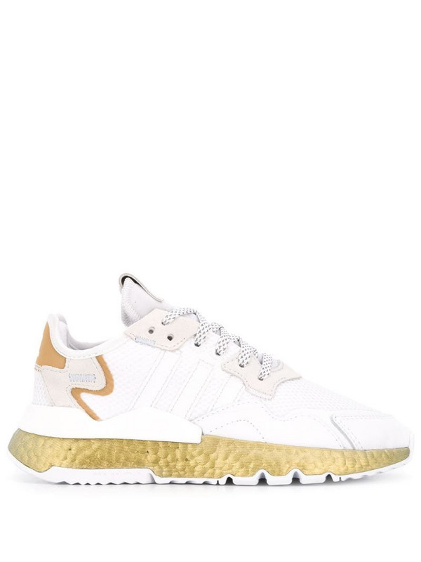 adidas Nite Jogger chunky sneakers in white