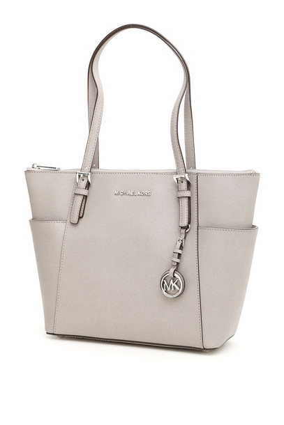 MICHAEL Michael Kors Jet Set Item Bag in grey