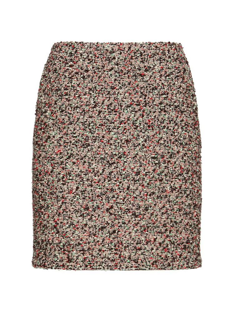 BOTTEGA VENETA Colorful Bouclé Mini Skirt