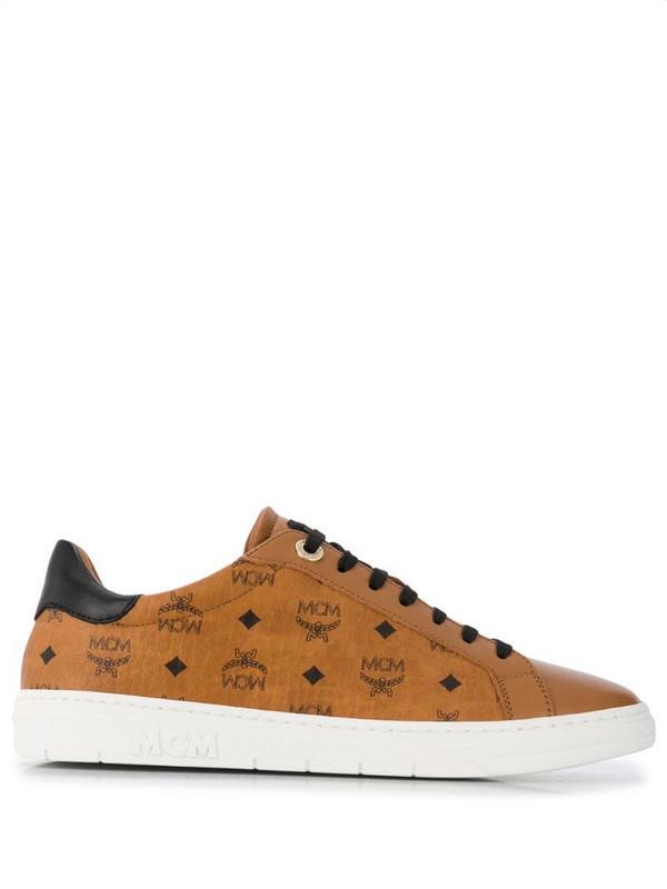 MCM Terrain derby sneakers in brown