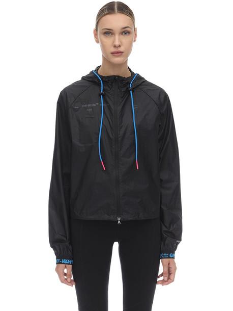 NIKE Nrg Off-white Techno Jacket in black