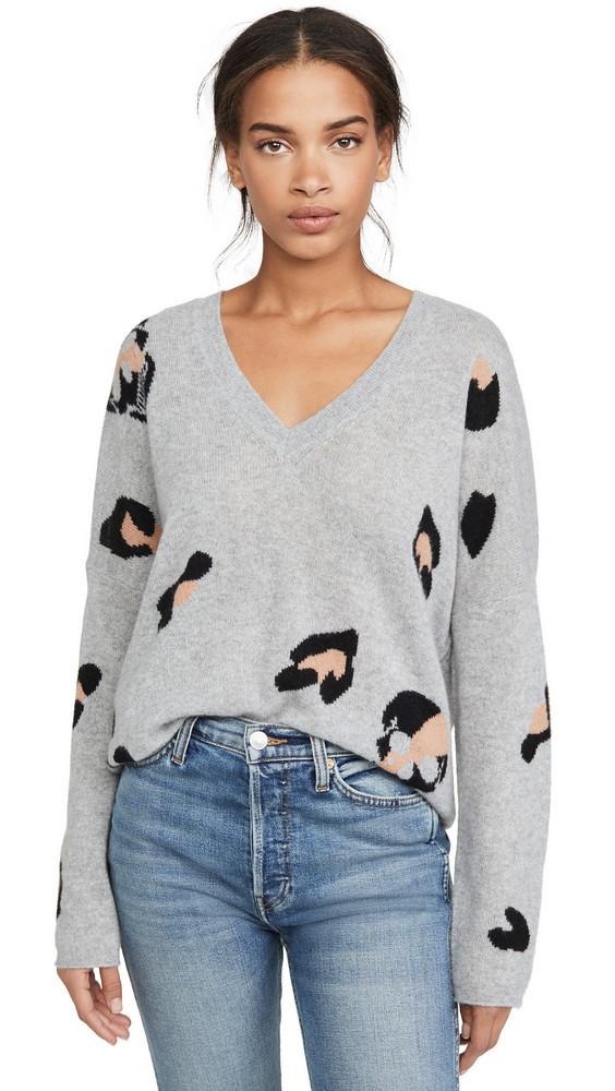 360 SWEATER Heidi Cashmere Sweater in black