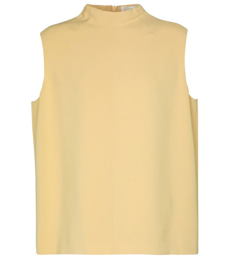 The Row Gera cady top in beige