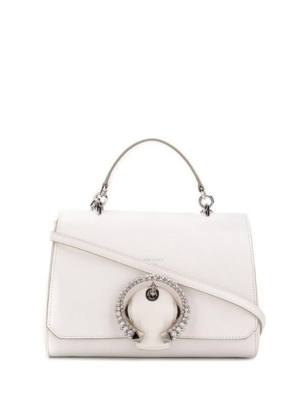 Jimmy Choo Madeline top handle bag in neutrals