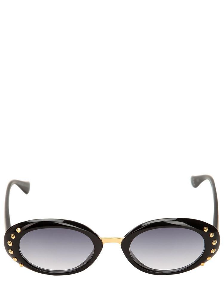 ITALIA INDEPENDENT I-i Mod Monica Embellished Sunglasses in black